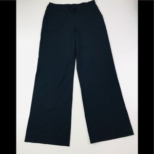 Lululemon Wide Leg Relaxed fit pants Black 14